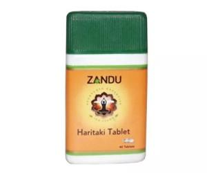 Zandu Haritaki (Harde) 40 Tablets