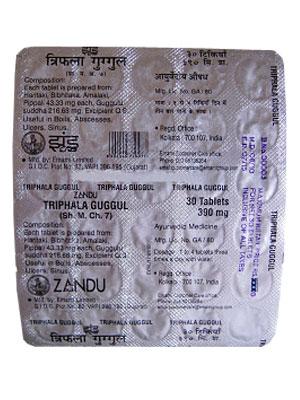 Zandu Triphala Guggulu 30 Tablets