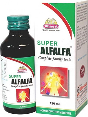 Wheezal Super Alfalfa Syrup