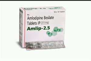 Amlip 2.5mg 10's(Amlodipine 2.5 MG)