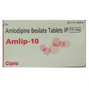 Amlip 10mg 10's(Amlodipine 10 MG)