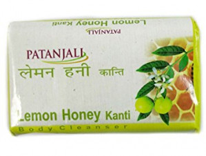 Patanjali lemon honey kanti body cleanser 75gm