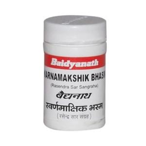 Baidyanath Swarnamakshika Bhasma 10g