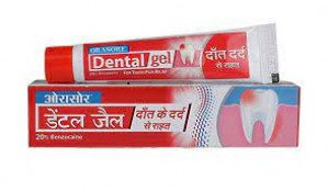 Orasore Dental Gel Tooth Pain Relief 10gm*2