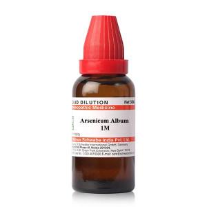 Dr Willmar Schwabe India Arsenicum Album Dilution 1M