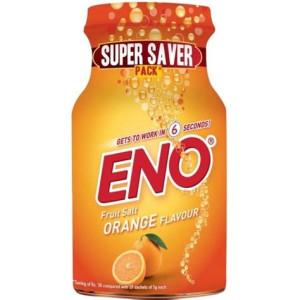ENO FRUIT SALT ORANGE FLAVOUR POWDER 100GM