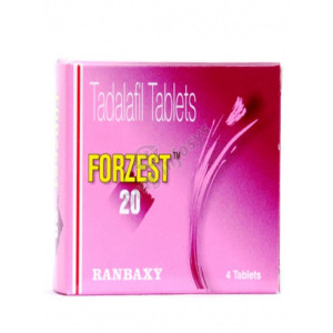 Forzest 20mg tablet 7 NOs