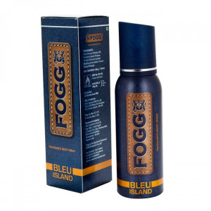 FOGG MEN BODY SPRAY BLEU ISLAND 100G/120ML