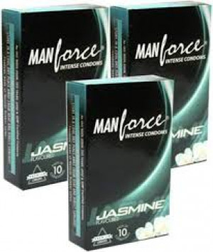 Manforce Jasmine Condom SET OF 3*10