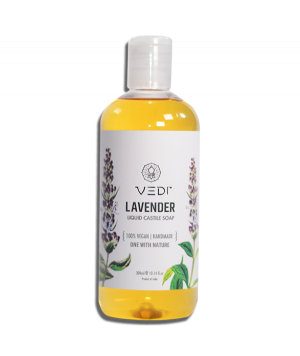 Vedi Herbal Lavender Liquid Castile Soap 300ml