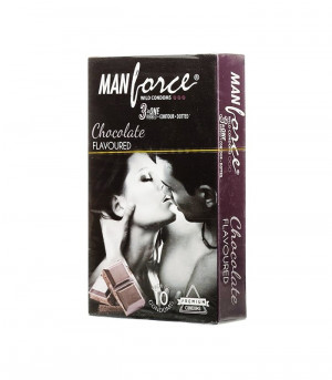 Manforce Chocolate Condom 10's