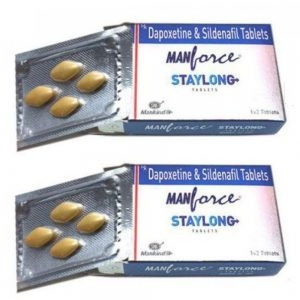 Manforce staylong tablet 4's+free pack of condom