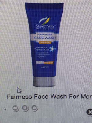 Smartway Fairness Facewash For MEN 70g
