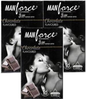 Manforce Chocolate Condom SET OF 3*10