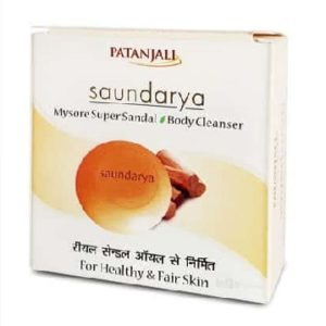 Patanjali saundarya mysure super sandal body cleanser 75gm