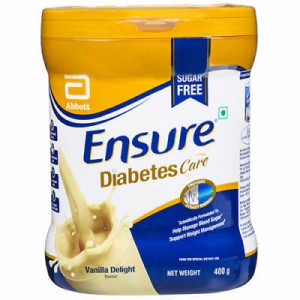 ENSURE DIABETES (GLUCERNA SR POWDER) VANILLA 400G