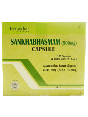 Sankha Bhasmam Capsule 100s