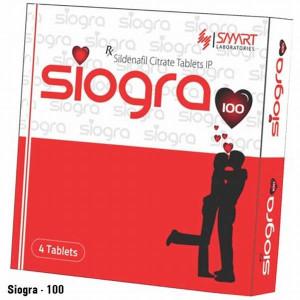 Siogra 100mg 1*4tabs
