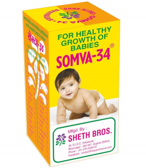 Somva 34 For Healthy Growth Of babies 24g