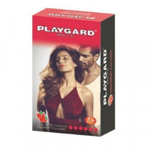 Playgard More Play Super Dotted Condom Pack of 10*3