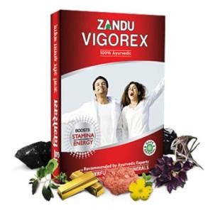 VIgorex Ayurvedic Daily Energizer 10Caps Zandu