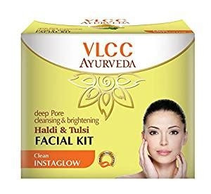 DEEP PORE CLEANSING & BRIGHTENING HALDI TULSI FACIAL KIT