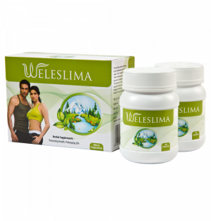 Weleslima 120caps (Helps in shredding those extra pounds)