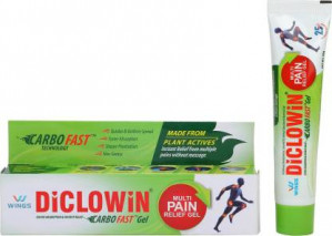 Diclowin Carbofast Pain Relief Gel 30gm